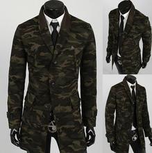 Z70009M Wholesale High Quality autumn camouflage woolen Men's Coat