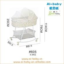 wholesale price new designs lightweight adult baby crib