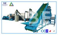 PET bottle recycling machine/plastic bottle crushing washing drying line for sale