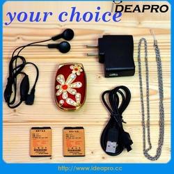 diamond phone spreadtrum 6531 dual sim 1.44 inch mini mobile phone
