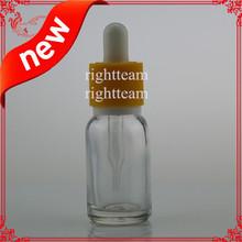 NEW Child Tamperproof dropper 15ml glass eye dropper bottle e liquid