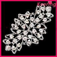 Fashion hot sales brilliant rhinestone crown embellishments WRE-148