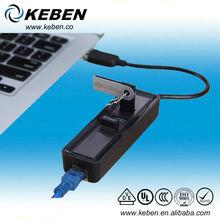USB 3.0 Hub RJ45 1000 Gigabit Ethernet Converter LAN Network Adapter