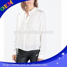 fashion shirt designs for ladies blank office shirts