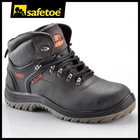 buffalo crazy horse leather safety shoes M-8180
