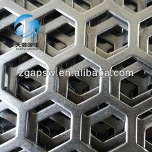 Anping Hexagonal Perforated Wire Mesh