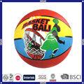 venta caliente de promoción logotipo personalizado baratos proveedor de baloncesto