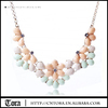 New Design Wedding Necklace Accessories For Women Artificial Gemstone Choker Necklace
