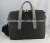 Carbon fiber leather laptop briefcase,Wholesale new tide genuine crocodile leather meet European carbon fiber briefcase design