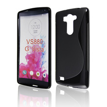Rubber TPU Phone Case For LG G VISTA VS880 Silicone Skin Soft Case