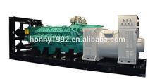 Remote Controller 50Hz 1500RPM Googol Engine 2MW 2.5MVA Diesel Generator