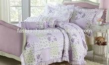 floral print elegant flower patchwork quilt
