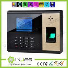 INJES Free Software TFT Screen Network Fingerprint Attendance Management And Payroll Processing UT51