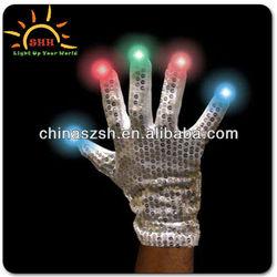 Light Up Glow Led Flashing Fabric Gloves China Wholesale
