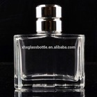 2015 new square 100ml man perfume glass bottle with cap empty perfume spray bottle perfume container wholesale