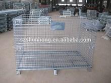 Foldable Lockable Metal Storage Bin