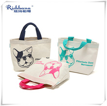 hot sale pattern cotton sling bag for shopping and promotion