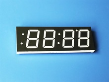 4 digit 7 segment display led temperature control digital