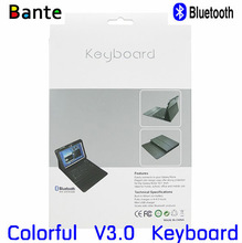"""factory wholesale For Samsung Galaxy Note 10.1"""" inch N8000 waterproof Bluetooth Keyboard With PU Leather Stand Case"""