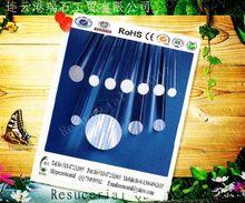 Modificado para requisitos particulares más barato de la resistencia térmica de laboratorio de cuarzo varillas de vidrio