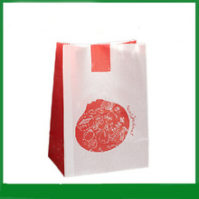 Disposable grease-proof french fries paper bag 2014