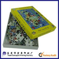 china promote kids intelligence toy jigsaw puzzle
