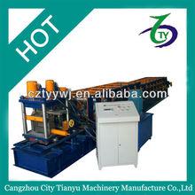 New design model C&Z purlin roll forming machine c purlin price,C shape purlin production line