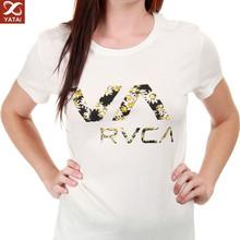 new design fashion women printing t-shirt