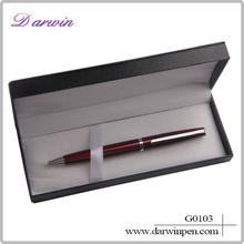 Gift pen set with box/promotional ball pen metal ballpoint pen