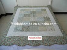 single size flower pattern girls thin comforter