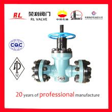 Cast iron rising stem gate valve