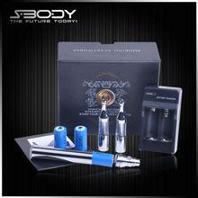 Best taste and healthy products max vapor e cig fashion designer ego battery max vapor e cig kit VV NO1 starter kit