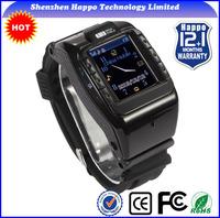 Factory GSM GPS wrist watch phone 1.4inch watch phone user manual Quadband:850/900/1800/1900 watch mobile phone