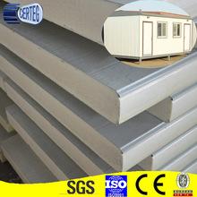 house prefabricated plastic flat pu wall sandwich panel price