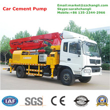 JH5025 25m Long Dongfeng Chassis Concrete Pump Boom Trucks for Sale