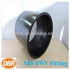 4 inch plumbing fittings CUPC NSF ASTM black plastic water pipe roll