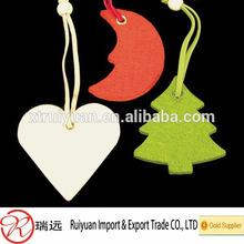 Eco-friendly wholesale popular felt Christmas decorations
