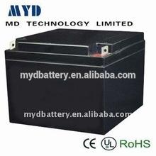 MYD sealed rechargeable lead acid battery 12v 20ah