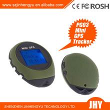 Factory Supply Handheld Keychain PG03 Mini GPS Navigation