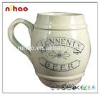 Antique creative porcelain mug