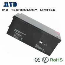 maintenance free rechargeable sealed lead acid battery 12v 250ah