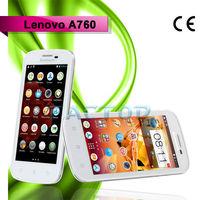 lenovo a760 dual sim card quad core original 4.5 inch wholesale mobile phone korea best quality