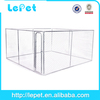 large stainless steel portable dog kennel