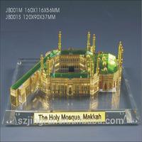 mini 3d crystal makkah model JB001