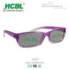 pink color frame reusable stronger frame 3d stereo viewer