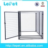 cheap large welded tube portable dog run kennels