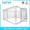 2014 new wholesale galvanize tube pen kennel dog park