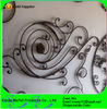 Antique Wrought Iron Scrolls Panels For Fences/Gates/Stairs For Sale