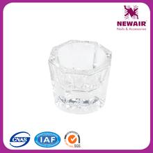 NewAir top hot glass material nail tools dapping dish professional supplier