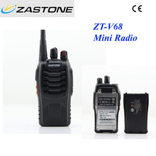 Cheapest mini walkie talkie zastone ZT-V68 uhf 400-470mhz handheld two way radio